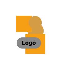Logo mit hintergrund