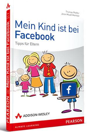 Buchcover: Mein Kind ist bei Facebook